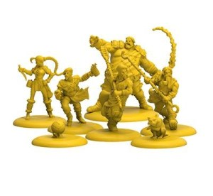 Guild Ball Brewer team from Kick Off! by Steamforged Games