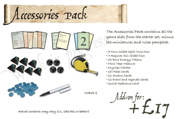 Moonstone Game Accessories by Goblin King Games.