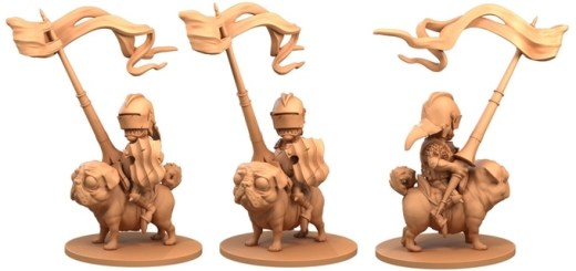 Doug the Flatulent for Moonstone. Copyright Goblin King Games, sculpted by Tom Lishman.