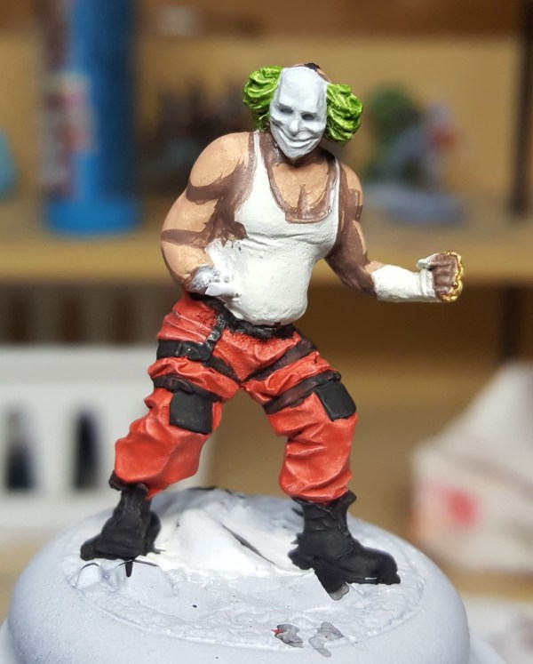 Batman Miniature Game Shield Clown First Shade