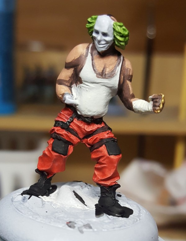 Batman Miniature Game Shield Clown Second Shade
