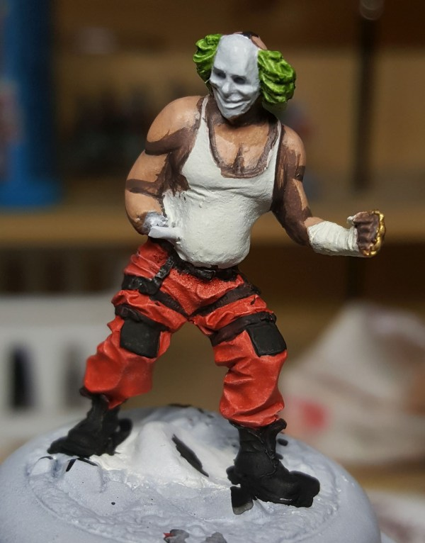 Batman Miniature Game Shield Clown First Highlight