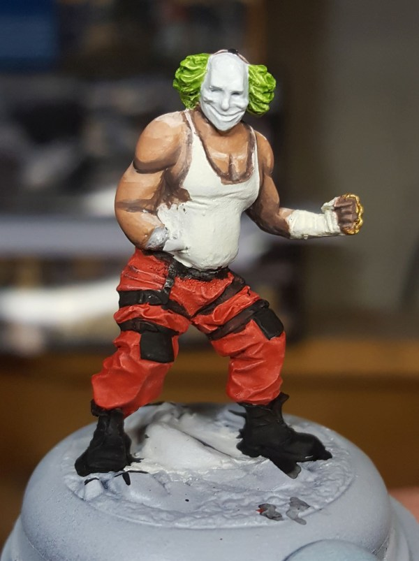 Batman Miniature Game Shield Clown Midtone