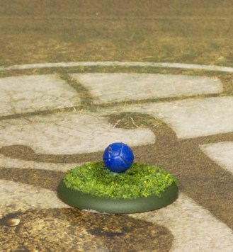 Guild Ball Mason Ball by Steamforged Games.