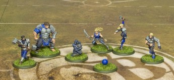 Guild Ball Masons team by Steamforged Games.