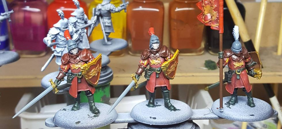 ASOIAF Lannister Guards Flatted