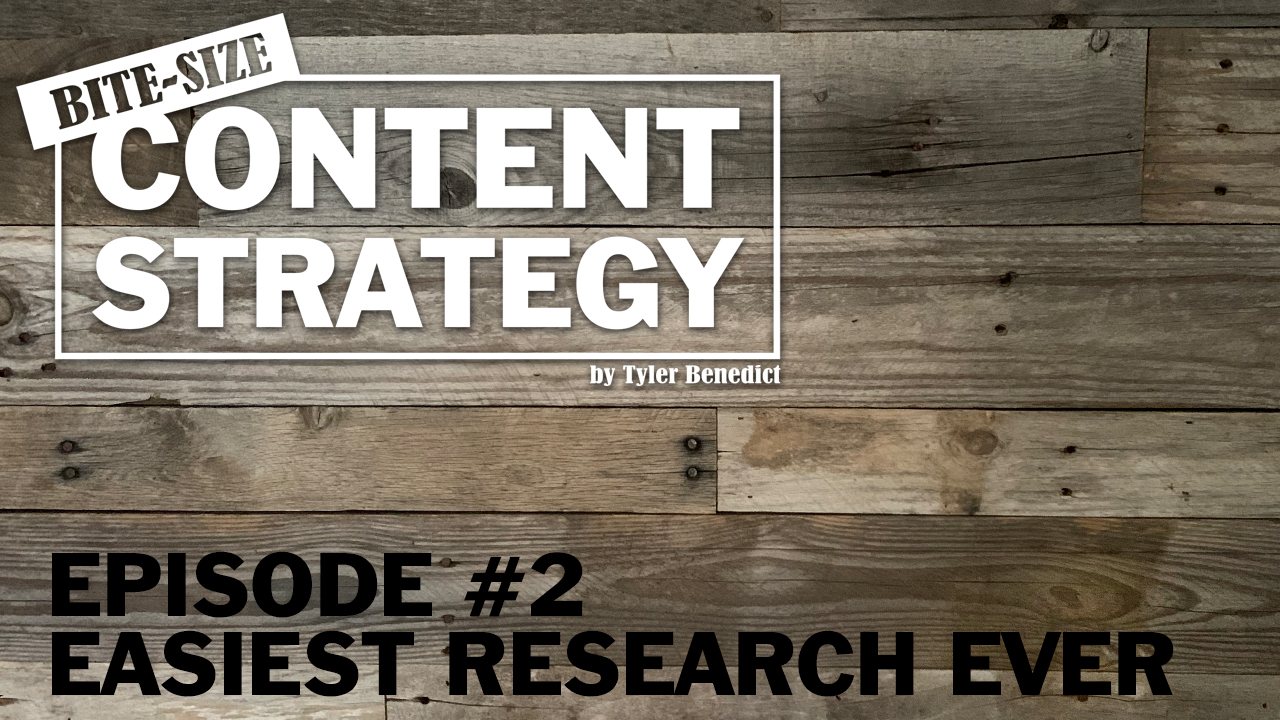 easy ways to research content marketing ideas