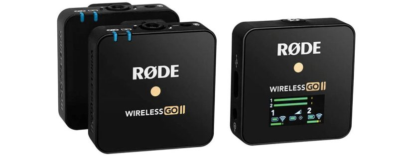 rode wireless go 2 dual microphone for smartphone video interviews