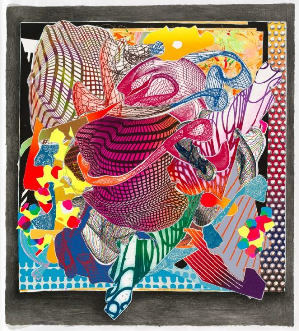 Frank Stella, 'Feneralia' from the 'Imaginary places' series 1994–97, National Gallery of Australia, Canberra, Gift of Kenneth Tyler 2002 http://cs.nga.gov.au/Detail.cfm?IRN=121699