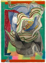 Frank Stella, The funeral (dome), from the 'Moby Dick (domes)' series 1992