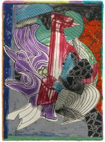 Frank Stella, The fossil whale (dome), from the 'Moby Dick (domes)' series 1992