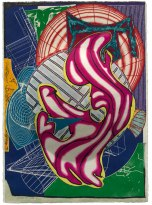 Frank Stella, Stubb & Flask kill a Right whale (dome), from the 'Moby Dick (domes)' series 1992