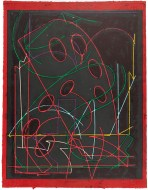 Frank Stella, 'Talladega five I' from the 'Circuits' series 1982-84, colour woodcut . National Gallery of Australia, Canberra