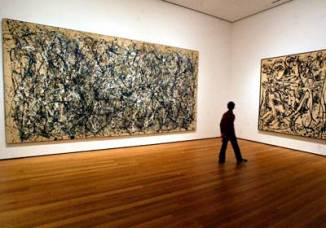 Pollock's Paintings are Gynormous
