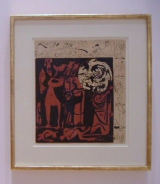 Pollock, untitled (1943)