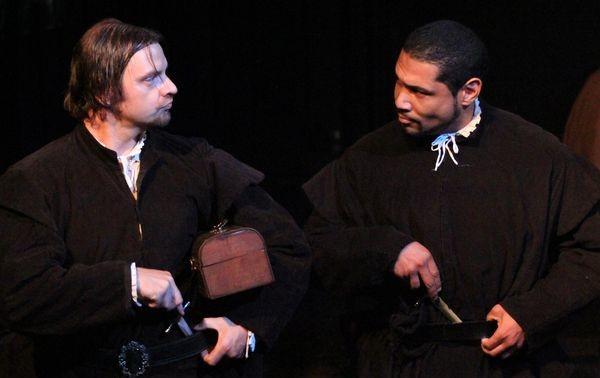 Pulp Shakespeare at Theatre Asylum (photo by Rick Clark; copyright 2011, LA Times)