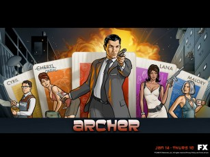 ARCHER Season 1 art
