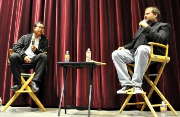 James Wong & Professor Kevin Wetmore @ LMU
