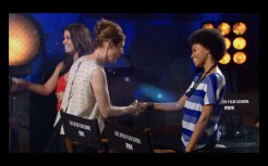 06 Valerie greeting Christina