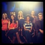 Sarah, Sydney, Maeve, Christina, Roy, and Me