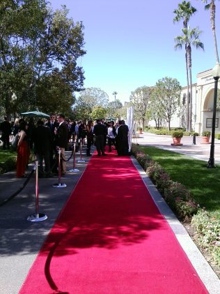 04 Film Outside the Frame 2012, Red Carpet