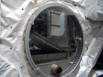 12 Peeking Inside Spacehab