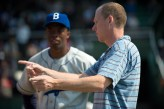 05 Chadwick Boseman with Director Brian Helgeland