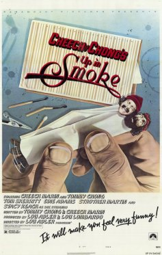 01 Original Up In Smoke Movie Poster