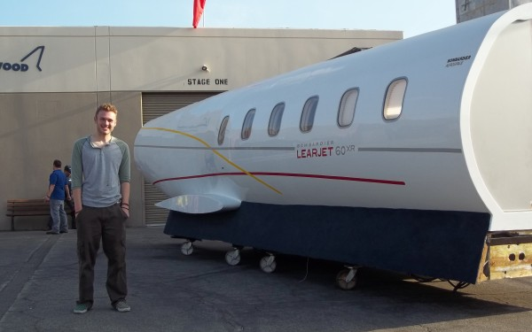 01 Outside With the Air Hollywood Learjet 60
