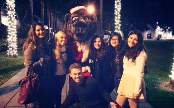 01 2013 LMU Tree Lighting with Iggy