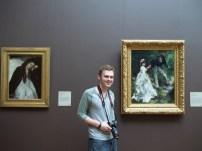 26 The Convalescent by Degas and La Promenade by Renoir