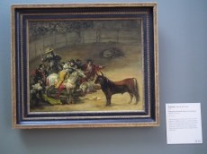 30 Bullfight by Goya