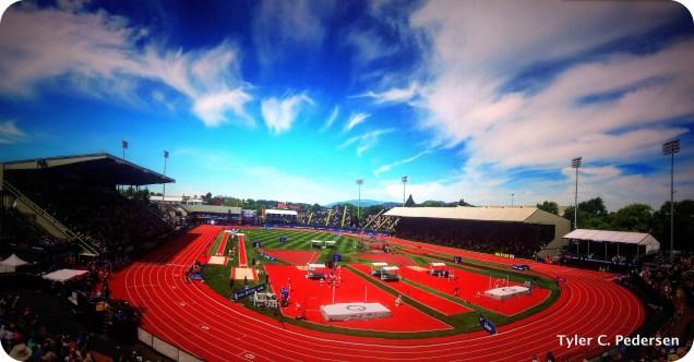 Historic Hayward Field, US Olympic Trials, Eugene, Oregon