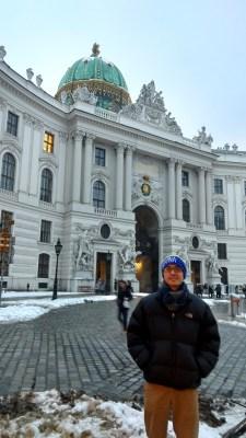 Spanish Riding School next to Hofburg Palace