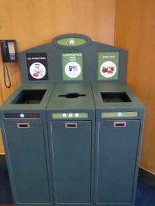 Oregon Convention Center Waste Station
