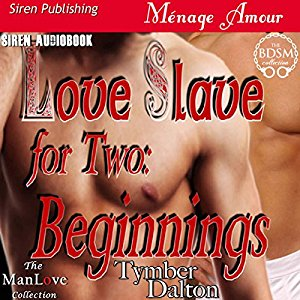 Audiobook Cover for Love Slave for Two: Beginnings