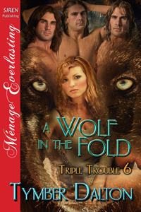 Cover for A Wolf in the Fold (Triple Trouble 6)