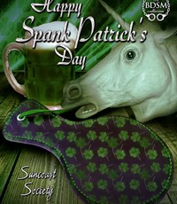 Happy Spank Patrick's Day!