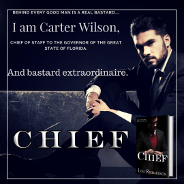 Chief (Governor Trilogy 3) Available for pre-order.