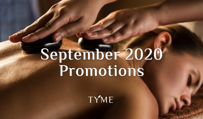 September 2020 Promotions