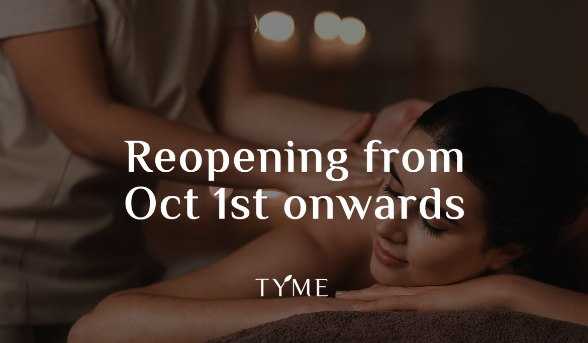 TYME SPA reopens