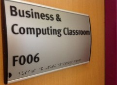 Business and Computing Classroom