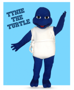 Tyne the Turtle became part of the Tynecastle family in 2013. You can see Tynie at all of our home basketball games and many school events!