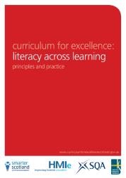 Literacy across learning document