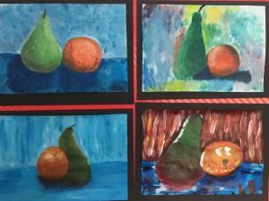 S3 Fruit paint