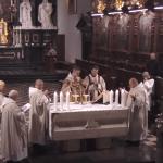 Msza św z modlitwą poranną po łacinie, 25 grudzień 2019 r