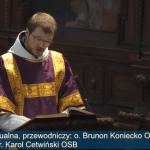 Msza św. konwentualna, 29 marzec 2020 r.