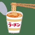 カップ麺のイラスト