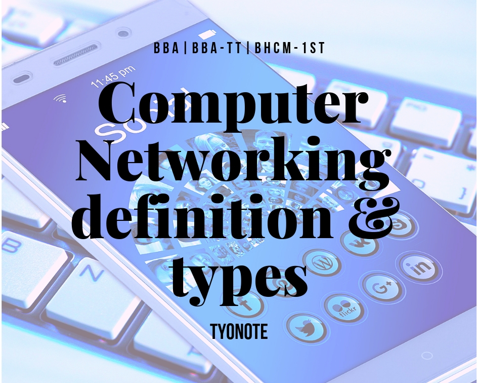 computer networking definition types