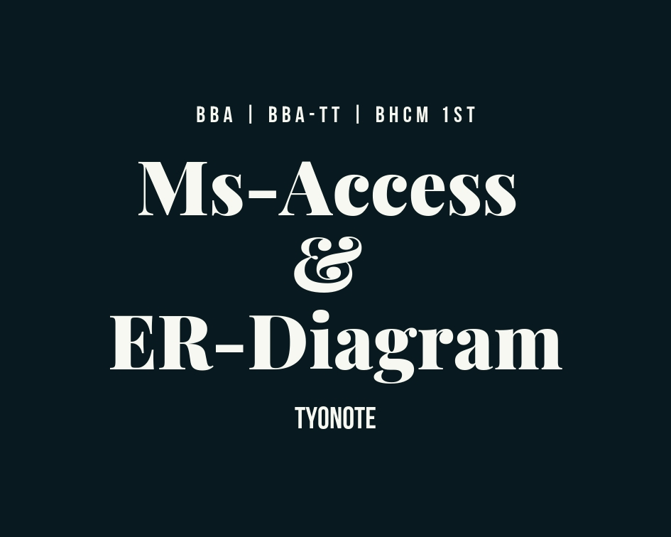 ms access er diagram